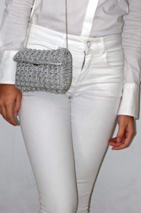 Nocciolina Bag Silver